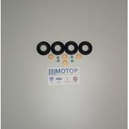 Комплект на форсунку Евро-4 (Сальник + медная шайба + резин. кольцо) Boxer III / Ford Transit 115