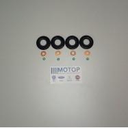 Комплект на форсунку Евро-5 (Сальник + медная шайба + резин. кольцо) Boxer III / Transit 155